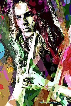 Dave Gilmour Dark Side by David Lloyd Glover