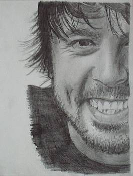 Dave Grohl by Kellie Hogben