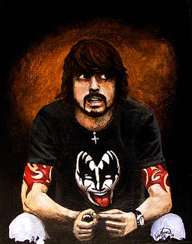 Dave Grohl by Luke Morrison