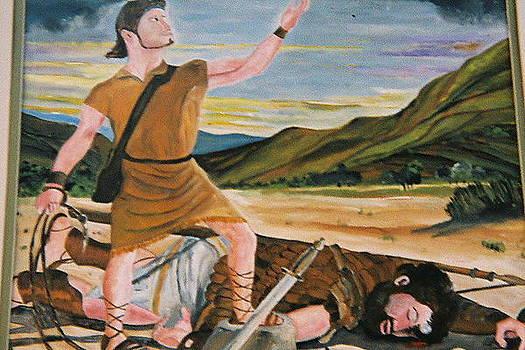 David and Goliath by Desenclos Patrick