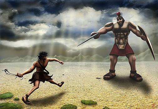 David and Goliath by Shane Robinson