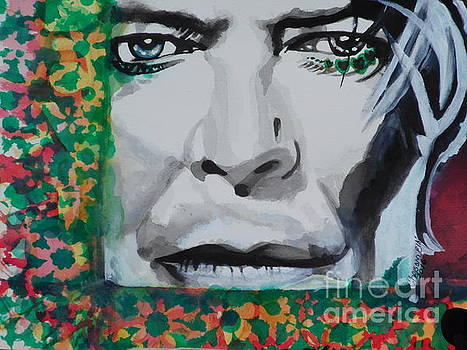 David Bowie 02 by Chrisann Ellis