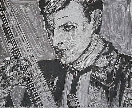 David Bowie by Adekunle Ogunade