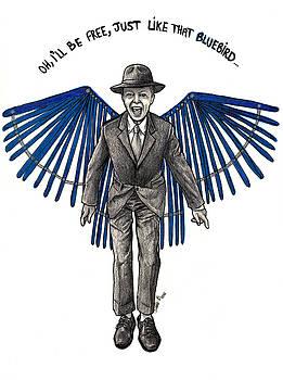 David bowie BLUEBIRD by Dianah B