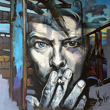 David Bowie by Inna Volvak