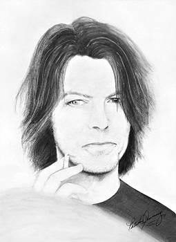 David Bowie - No Pressure by Patricia Brewer-Cummings