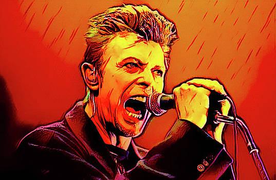 David Bowie by Oscar George
