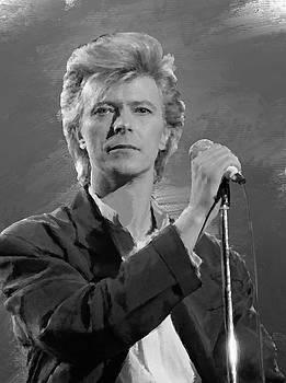 David Bowie Portrait by Brian Tones