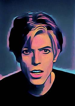 David Bowie Portrait by Gary Grayson