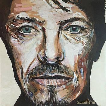 David Bowie by Suzette Castro