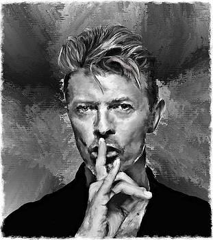 David Bowie work 21 by Brian Tones