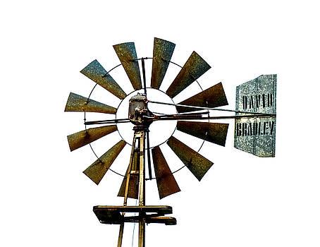 David Bradley rural windmill  by Gary Warnimont