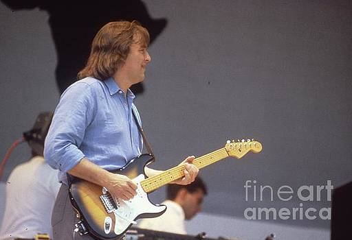 David Gilmour Live Aid 1985 by David Plastik