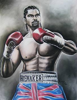David Haye by Anastasis  Anastasi