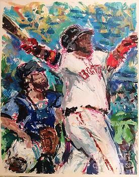 David Ortiz, Big Papi, Boston Red Sox  by Russ Potak