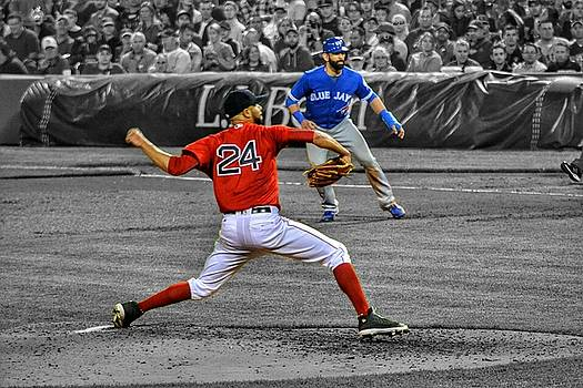 David Price and Jose Bautista  by SoxyGal Photography