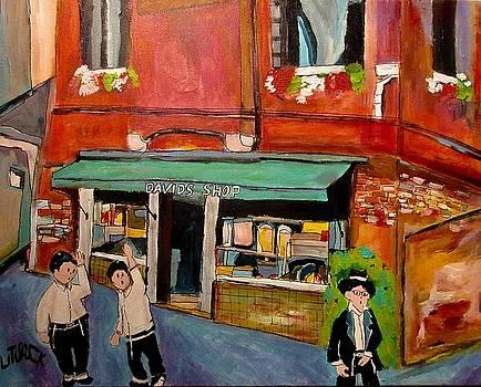 Davids Shop Venice Ghetto by Michael Litvack