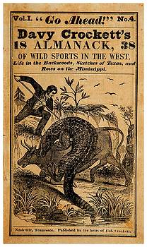 Davy Crocketts 1838 Almanack of Wild Sports in the West by Peter Gumaer Ogden