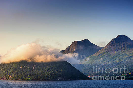 Dawn along the Nordfjord  by Andrew Michael