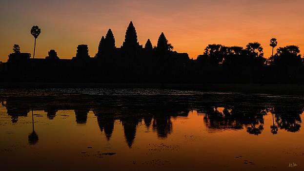 Dawn at Angkor Wat by Stuart Gordon