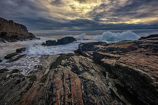 Dawn at Bald Head Cliff by Rick Berk