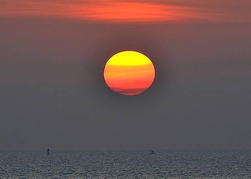 Dawn at Cape Canaveral by Lorelei Galardi