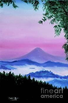 Derek Rutt - Dawn At Mount Fuji Japan