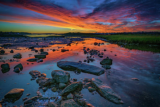 Dawn at Pott's Point by Rick Berk