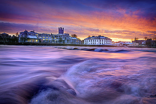 Dominick Moloney - Limerick Dawn at the Limerick river front