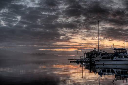 R J Ruppenthal - Dawn at the Marina