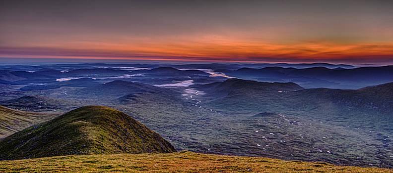 Dawn At The Merrick Summit by David Attenborough