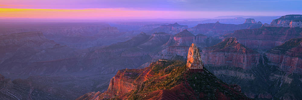 Dawn At The North Rim by Mikes Nature