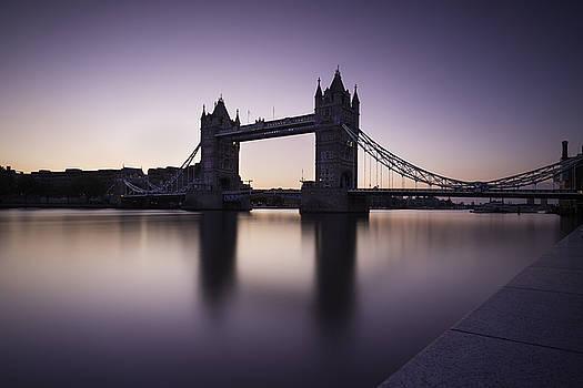 Dawn at Tower Bridge  by Wendy Chapman