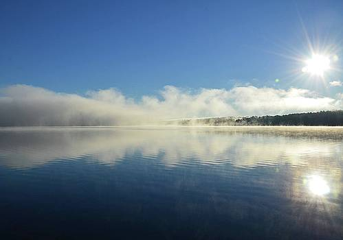 Dawn Big Indian Lake, Maine by Lisa Purcell