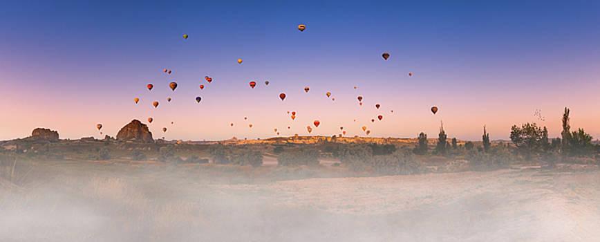 Dawn, Cappadocia by Marji Lang