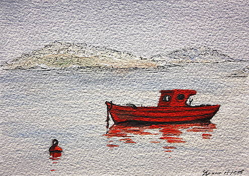 Yvonne Ayoub - Dawn Fishing