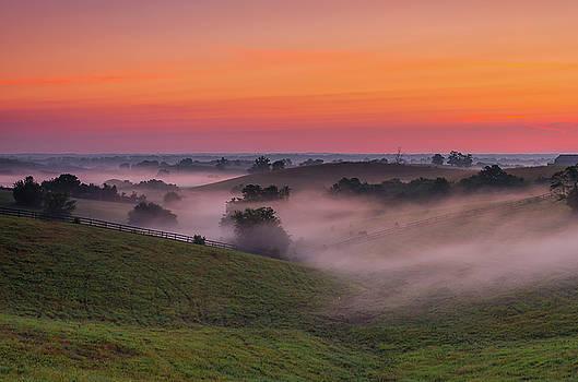 Dawn in Kentucky by Ulrich Burkhalter