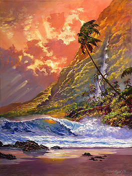David Lloyd Glover - Dawn in Oahu