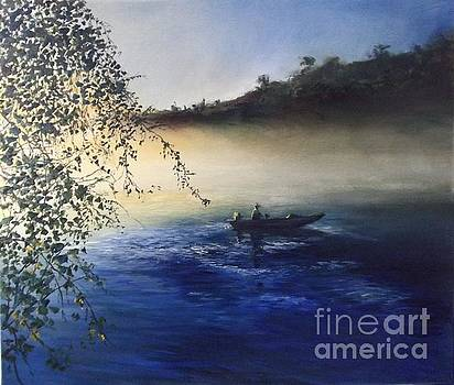 Dawn On The Lake by Lizzy Forrester
