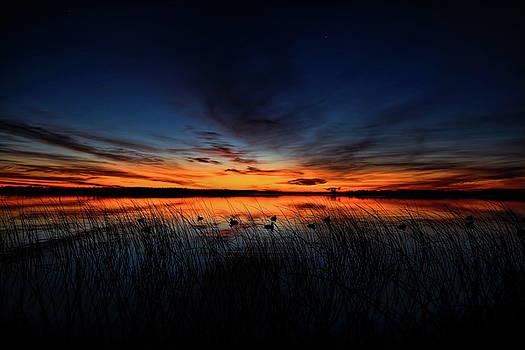 Dale Kauzlaric - Dawn on Thunder Lake