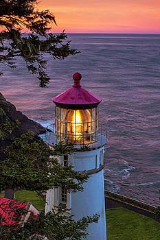 Dawn over Heceta Head by Andrew Soundarajan