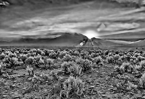 Charles muhle artwork for sale ranchos de taos nm united dawn over magic taos in b w by charles muhle publicscrutiny Images