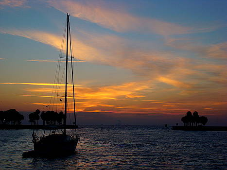 Sleeping Sailor of St. Pete by Julie Pappas