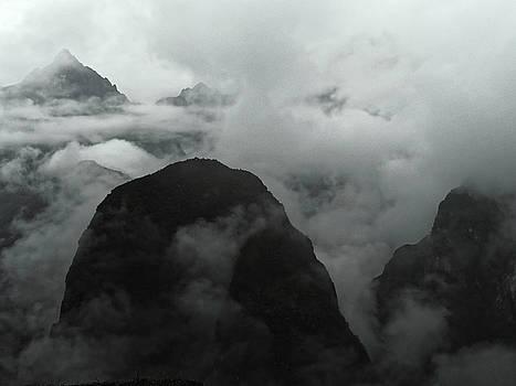 Chris Honeyman - Dawn view from Machu Picchu, 2013