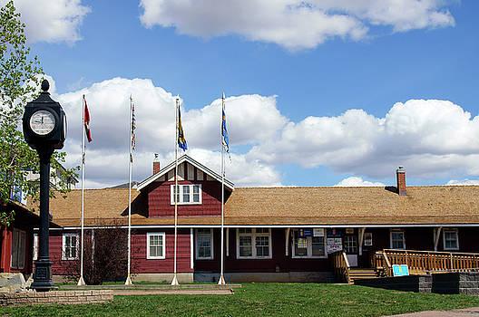 Dawson Creek Visitors Center by Robert Braley