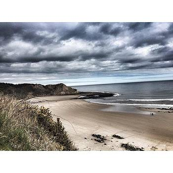 North Yorkshire coast along the Cleveland Way - Cayton Bay by Rebecca Bromwich