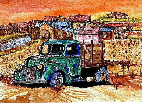 Day At Bodie Calif. by Connie Valasco