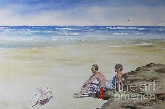 Day At The Beach by Shirley Lennon