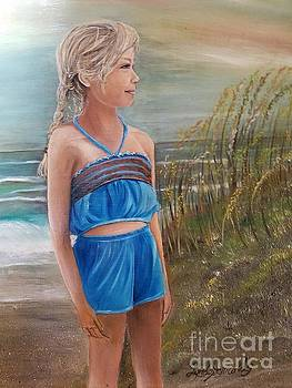 Day at the Beach by Lynda Carter