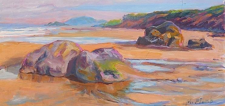 Day at the Beach by Margaret  Plumb
